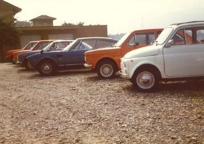 Garage Vecchio in den 70er