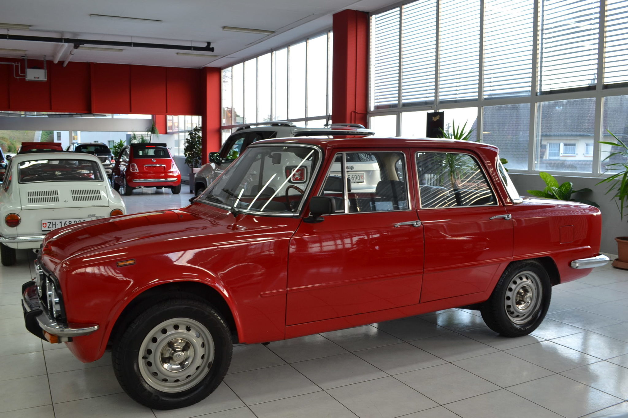 Alfa Romeo Giulia Nuova Super 1600 Rosso Alfa Garage Vecchio