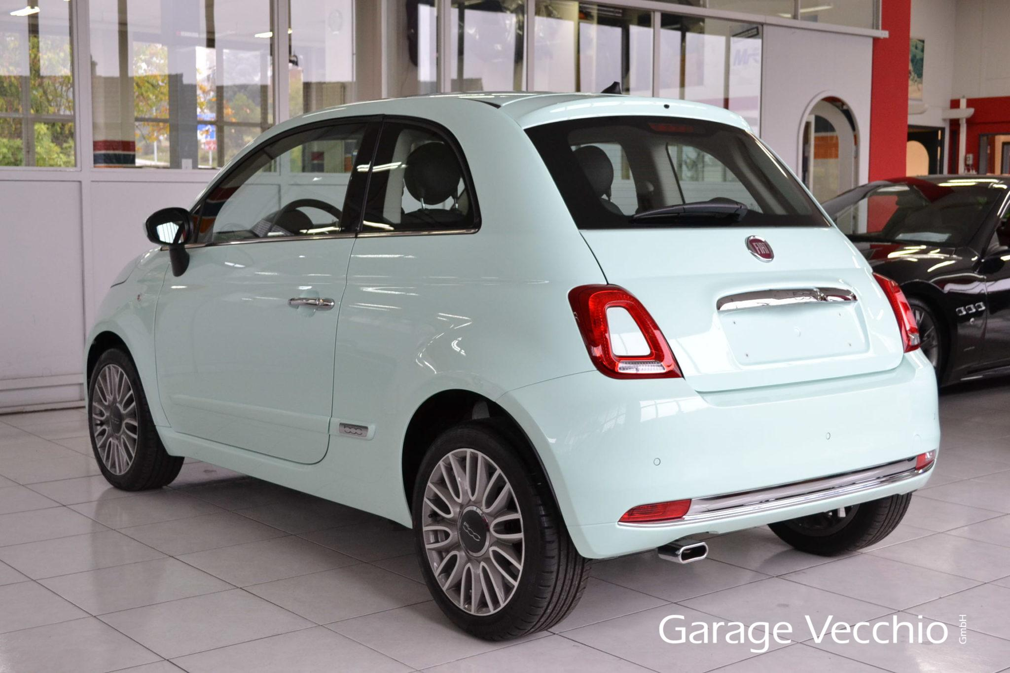 Fiat 500 0 9 t twinair lounge lattementa garage vecchio for Garage fiat 500